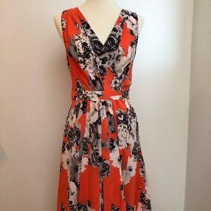YoAna Baraschi  wrap floral print dress